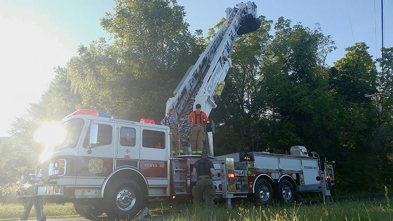Engine 91 and Tower 45 team-up for Animal Rescue