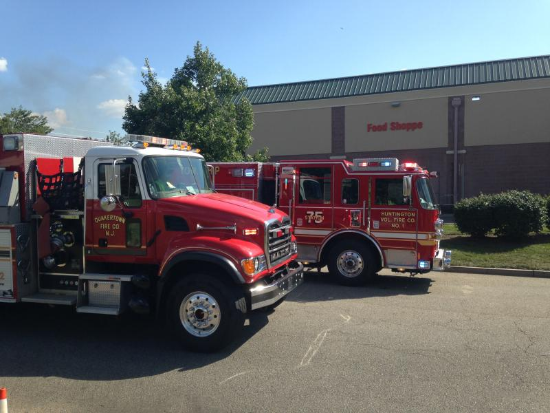 Tender 91-2 responds to North Brunswick